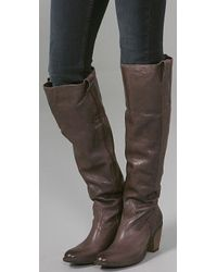 Frye Brown Taylor Over The Knee Boots