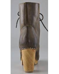 Jeffrey Campbell - Brown Erikson Clog Booties - Lyst