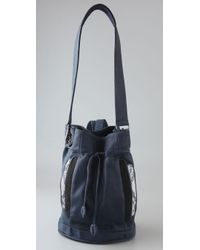 Khirma Eliazov | Blue Sinclair Bucket Bag / Backpack | Lyst