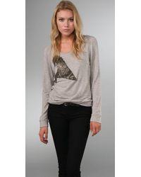 Leyendecker | Gray Tower Sweatshirt | Lyst