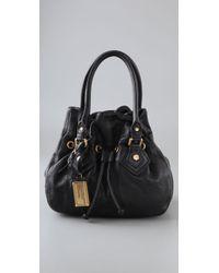 Marc By Marc Jacobs Black Classic Q Drawstring Bag