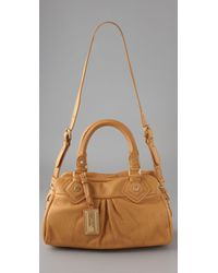 Marc By Marc Jacobs - Brown Classic Q Baby Groovee Satchel - Lyst