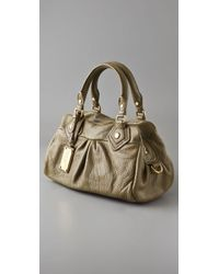 Marc By Marc Jacobs - Green Classic Q Baby Groovee Satchel - Lyst