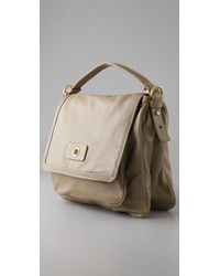 Marc By Marc Jacobs Natural Totally Turnlock Lydia Crossbody