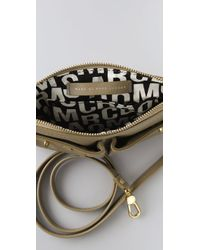 Marc By Marc Jacobs Gray Totally Turnlock Percy Bag