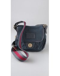 Marc By Marc Jacobs Blue New Army Cadet Cross Body Bag