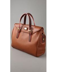 Marc By Marc Jacobs Brown Saddlery Loulou Bag