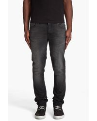 Nudie Jeans | Grim Tim Broken Black Jeans for Men | Lyst