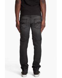 Nudie Jeans - Grim Tim Broken Black Jeans for Men - Lyst