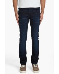 Nudie Jeans - Blue Thin Finn Dark Shine Jeans for Men - Lyst