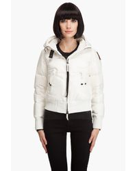 Parajumpers White Light Hood Bomber Jacket