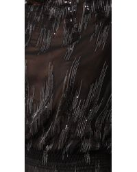 Parker | Black Lightening Bolt Sequin Elastic Waist Batwing Tunic | Lyst