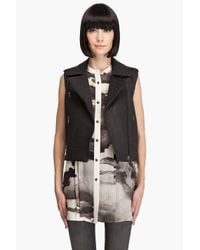 Rag & Bone | Black Talbot Leather Jacket | Lyst