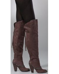 Sam Edelman - Brown Norwick Over The Knee Boots - Lyst