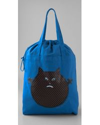 See By Chloé | Blue Ugly Monster Shopper | Lyst