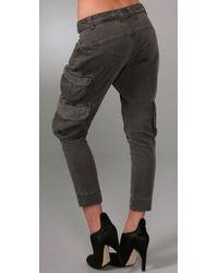 Siwy - Black Valentine Cargo Pants - Lyst