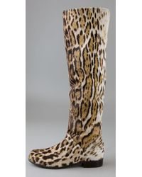Stuart Weitzman - Multicolor Backup Calf Hair Boot - Lyst