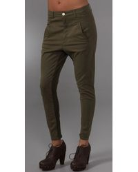 Superfine | Green Adventure Harem Pants | Lyst