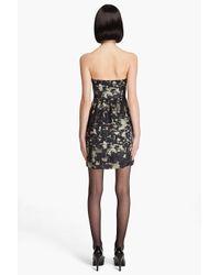 Theory Black Kendy Abstract Print Dress