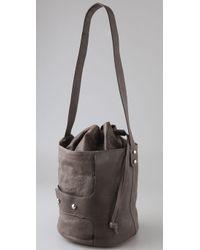 Tila March - Gray Bonnie Bucket Bag - Lyst