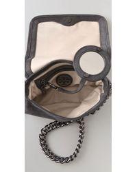Tory Burch Gray Mclane Mini Bag