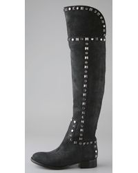 Tory Burch - Black Rhett Over The Knee Boot - Lyst