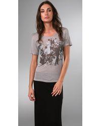 Vena Cava | Gray Viva Vena Decoupage T-shirt | Lyst