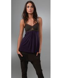VPL | Purple Convexity Breaker Tank | Lyst