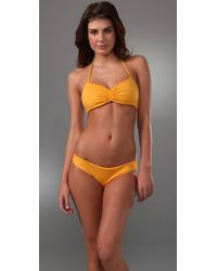 Basta Surf | Yellow Padang Ruched Bikini with Reversible Top | Lyst