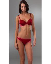 Calvin Klein | Red Perfectly Fit Flirty Bouquet T Shirt Bra | Lyst
