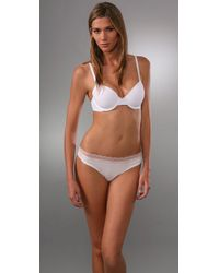 Calvin Klein | White Perfectly Fit T-shirt Bra | Lyst