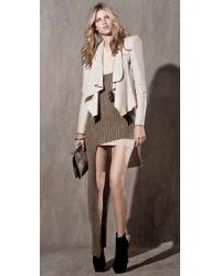 Camilla & Marc | White Adora Leather Blazer | Lyst