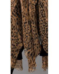 Catherine Malandrino - Multicolor Raw Edge Shredded Skirt - Lyst