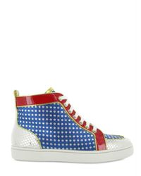 Christian Louboutin - Multicolor Supe Ball Woman High Sneakers - Lyst