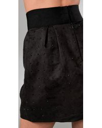 Club Monaco | Black Fleta Skirt | Lyst