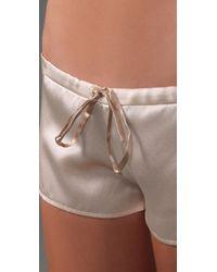 Club Monaco - Pink Marcella Shorts - Lyst