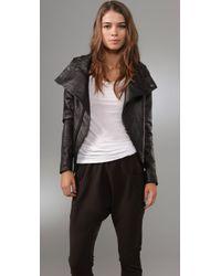 Dallin Chase | Black Solomon Leather Jacket | Lyst