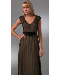 Dallin Chase - Natural Mohit Long Dress - Lyst