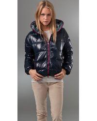 Duvetica | Blue Thiaerre Reversible Jacket | Lyst