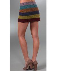 Gryphon - Black Festival Mini Skirt - Lyst