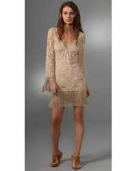 Inca | Natural Peacock Fairy Cover Up Dress | Lyst