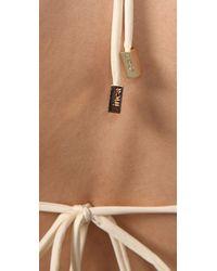 Inca   Natural Riley Fringe Bikini   Lyst