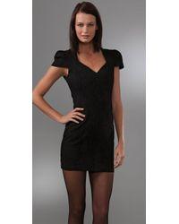 Kova & T - Black Raven Dress - Lyst
