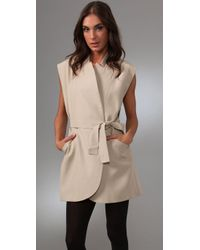 Lover Natural Arthouse Trench Dress
