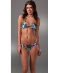 Mara Hoffman | Multicolor Ruched Two-piece Bikini | Lyst