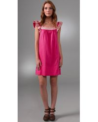 Marc By Marc Jacobs Pink Anne Cotton Dress