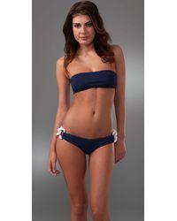 Melissa Odabash | Blue Luxor Bandeau Bikini | Lyst