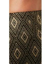 MILLY - Black Classic Miniskirt - Lyst