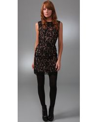 Nanette Lepore | Black Usual Suspect Lace Dress | Lyst
