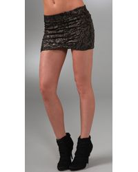 Nightcap | Black Lace Mini Skirt | Lyst
